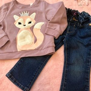 🚨2 for $12🚨 2t children's place outfit